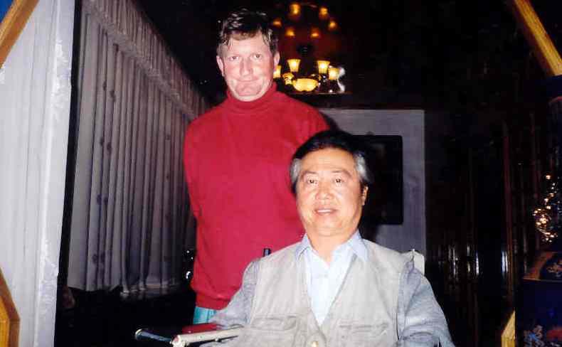 Sifu of Baji Quan - Han Jia Guan