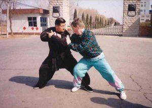 Przyjacielski lepkie ręce z mistrzem Zhao Wei Ping