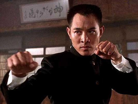 Jet Li w filmie Fist of Legend