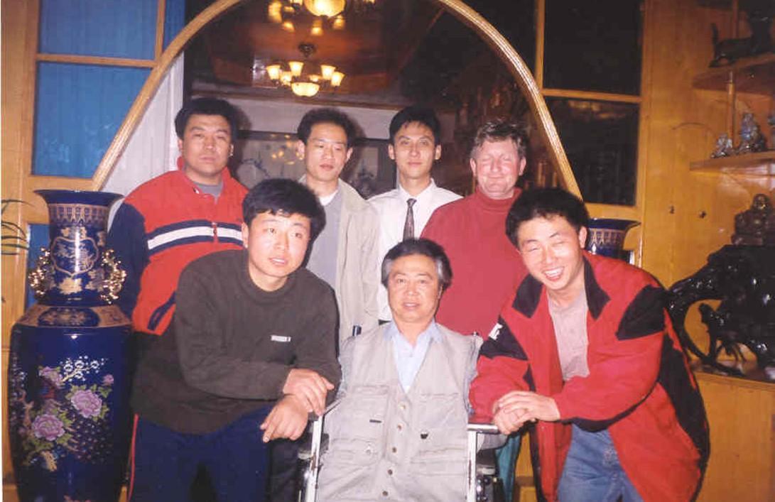 Z mistrzem stylu Liu He i Baji Quan - Han Jia Guan