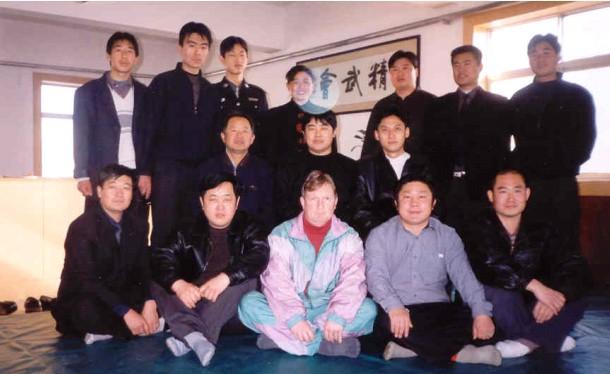 Zdjęcie wspólne z mistrzami Chin Woo w Cangzhou