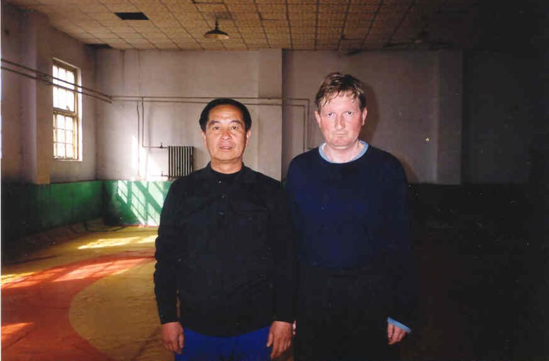 Z mistrzem stylu Yan Qing Quan w Cangzhou