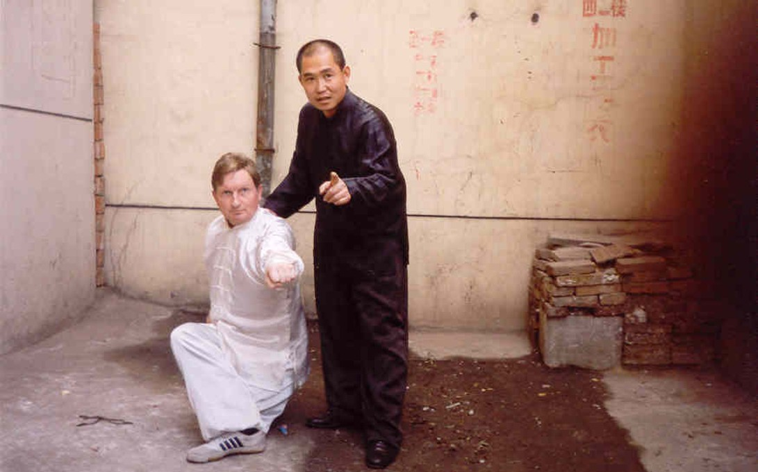 Nauka technik Yan Qing Quan z sifu Han Gou Xing