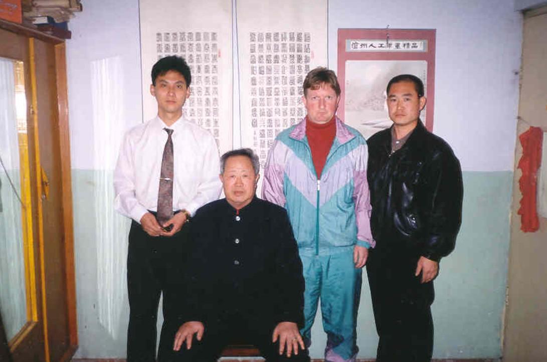 Z nieżyjącym już si fu Chen Youliang