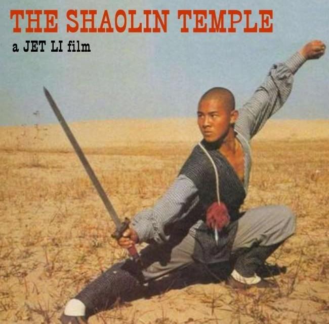 """Jet Li w klasycznym już filmie """"Shaolin Temple"""" z 1982 roku"""